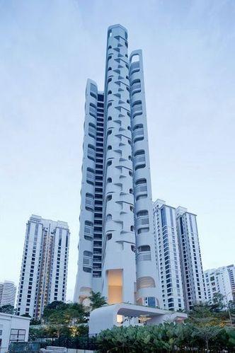 绝妙的无棱角流畅外观 来自新加坡的Ardmore公寓