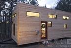 21平米可移动的森林别墅 高品位装修度假打满分