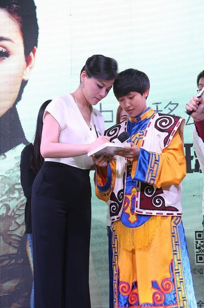 陈思思《中国梦》新专辑发布会吸引了全国各地的歌迷朋友,在互动环图片