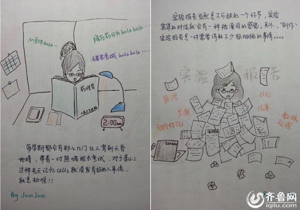 高清:新疆姑娘山东求学 手绘漫画说大学生活