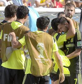 西班牙的最后一场比赛