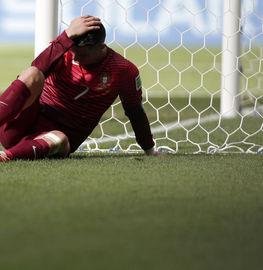 C罗在巴西世界杯的最后一场比赛