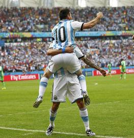 梅西在巴西世界杯的第三场比赛