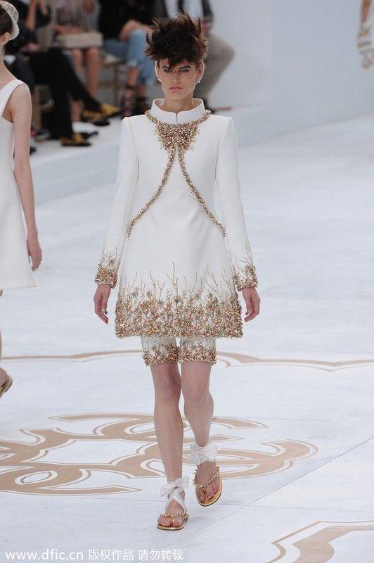 Chanel 巴黎14秋冬高级订制时装周图片