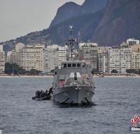 巴西军演为决赛护航