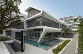 """新加坡的住宅项目""""奥克斯利"""",由LAUD建筑事务所设计。(实习编辑:温存)"""