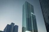 广州的邦华琶洲项目,由英国凯达建筑事务所设计,入围办公楼单元。(实习编辑:温存)