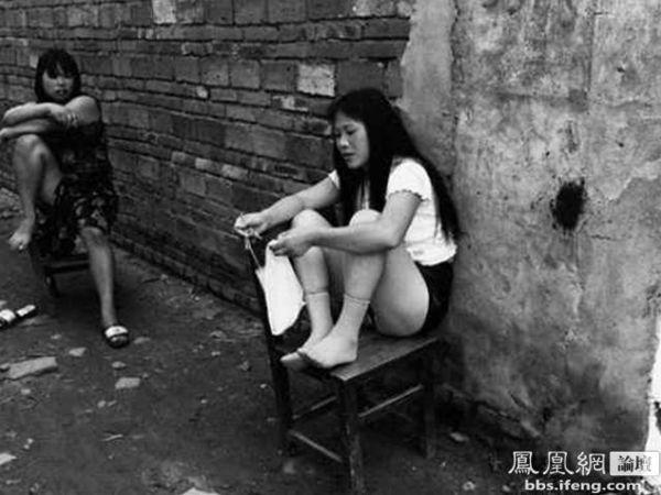 镜头下90年代中国妓女村生活