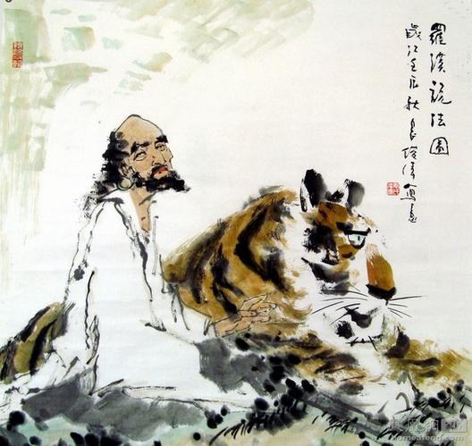家有老虎该如何驯服?悬挂虎图要讲究