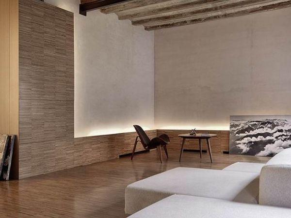巴塞罗那复古公寓 地板墙面创意搭配欣赏