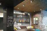 """曾有一段时间loft是前卫艺术家们的保留项目。一看到这个词我们仿佛看到安迪沃霍在自流平地面上随意喷漆的镜像。而今,loft所代表的居住趣味已成了不少人的梦想。就像是室内设计界的""""制服诱惑"""",工业化的设计,尖锐高耸的屋顶,巨大窗户,loft本身的工业冷感不仅没有让人害怕,还给人带来了与别不同的审美趣味。"""