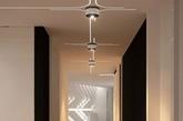 近期保加利亚的Bozhinovski Design完成了一个85㎡的私人住宅项目,供两个成人和两个小孩居住。整体设计十分高调动感,冷白的灯光打在切割状的背景墙上,极具抽象主义风格。软装与硬装配套,全高光质感,冷硬炫酷。儿童房更是别有洞天,3D立体效果逼真到分不清是玩偶还是壁画。这家公司十分擅长超现代的未来感设计,细节全面,没有违和感令人惊叹。(实习编辑:江冬妮)