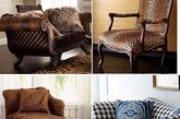 经典千鸟格:备受英国贵族喜爱的千鸟格是最经典的图案之一,也非常适合与毛呢等冬天材质搭配。利用千鸟格的家具或配饰,搭配出优雅时尚的气质。