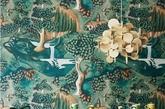 植物图案居墙面手绘图案流行之首,这种风格恰似女性的娇柔,讲究层次感,强调用夸张的颜色和线条来表现。抽象的图案也正在慢慢走近人们的生活,大胆的配色让人眼前惊艳。(实习编辑:陈尚琪)