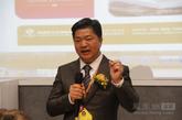 左右家私总裁黄华坤亲自主持互动环节。