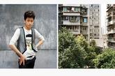 廖杨,26岁,新曙光沙龙。他和其他许多同事合租一个大公寓,共享厨房、起居室、卫生间和观景阳台。