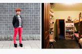 金珊,18岁,新曙光沙龙。在北京一家美发店工作三年后,金珊选择回到四川,这里离家更近。在北京的工作经历让她很快在新店得到晋升,位列管理层。现在,她和店内员工共用一间宿舍,她说有些员工忌惮她的领导身份,平时相处时有些小紧张。