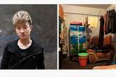 杨佳伟,17岁,美时美刻发艺沙龙。佳伟和这家沙龙里的另外2个学徒合租了一个房间,他们的租住地在繁忙的城市中心。