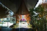 建筑的一侧种植着大面积的柏树,设计团队希望顾客能够被包裹在这柔和的灯光以及柏树的清香气息中,悠缓地、具有仪式感地享用甜食。(实习编辑:谭婉仪)