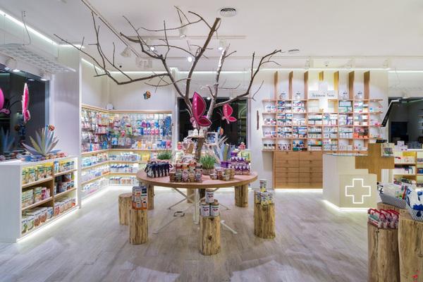 S´ana药店装饰宛如糖果店   带小孩的家长请留意