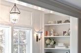 大块采光玻璃和宽敞的阳台具有天生的浪漫基因,帮妈妈换一副新窗帘,质地轻薄的纱质或丝质窗帘再加上两个抱枕,或坐或卧,看风景或聊天,悠哉。
