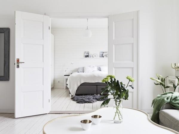 北欧72平米梦幻纯白公寓演绎欧式典雅风情