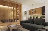 公寓之美在于其独具特色。不是千篇一律的统一装修,不是批量化的设计,每个人都能根据自己的需要进行设计。可以把床围在窗帘之后,也可以全开间式设计,让家中一切一览无余。还有什么比住在自己精心设计的房子里更让人有幸福感的呢?(凤凰家居编译)