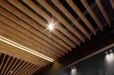 木质轮廓既创造出了树干的纹路,又掩藏了原本的柱体结构(实习编辑:刘嘉炜)