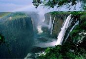 赞比西河瀑布