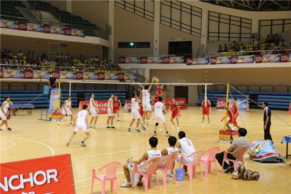 4年 力加杯 海南省排球联赛陵水赛区隆重开赛