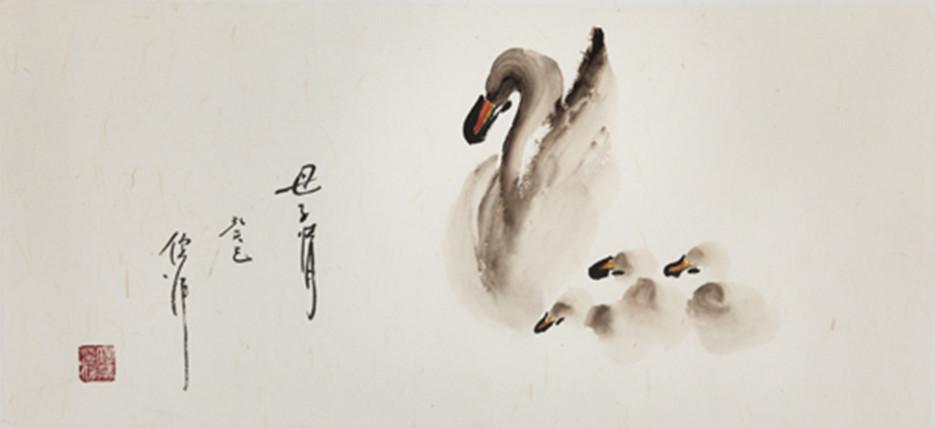 倪萍绘画作品赏析图片