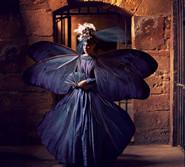 人像摄影:油画里的蝴蝶公主(高清)