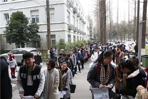 中影艺考学子的2016南京艺术学院考试第一天