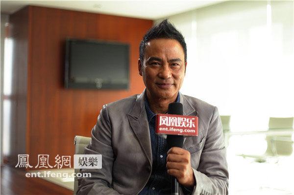 """专访年度""""新片帝""""任达华:演内地警察加入藏獒精神"""