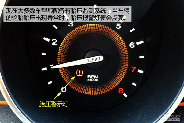 问题,随之而来的安全隐患可大可小.   建议车辆没有配备胎压高清图片