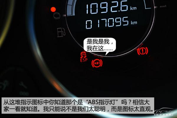 新手看过来 开车必懂的仪表盘图标高清图片