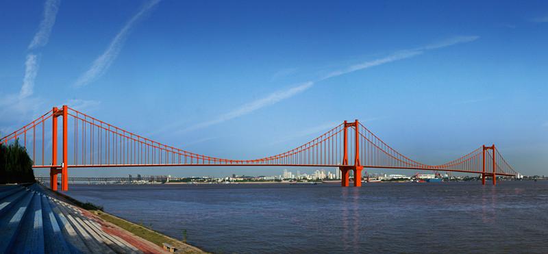 鹦鹉洲长江大桥接线工程启动