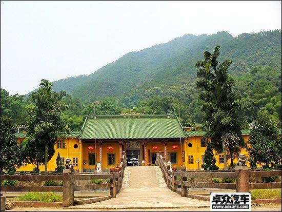 风景:云门大觉禅寺,俗称云门寺,是佛教神宗五个流派之一云门...