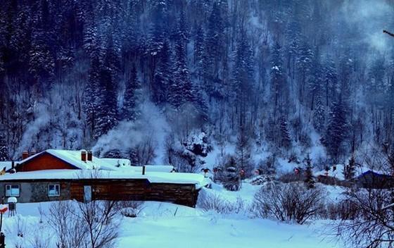 冰雪奇缘 跟着初雪走进白色的梦幻世界