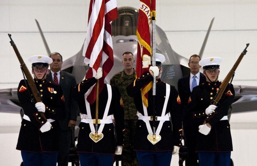 美国海军陆战队首支F-35B战斗机中队正式成立(组图)