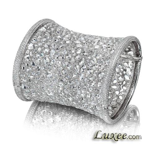 冰晶钻石手镯
