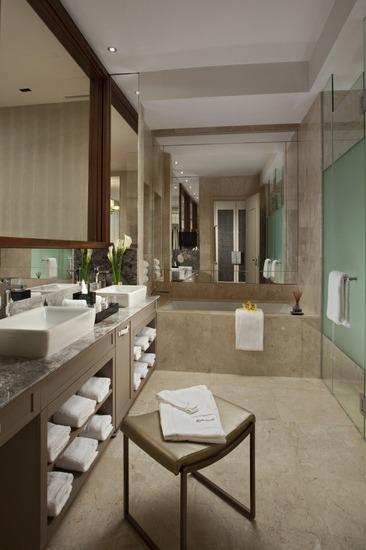 圣淘沙名胜世界逸濠酒店的豪华浴室