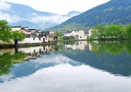 中国画里乡村--宏村