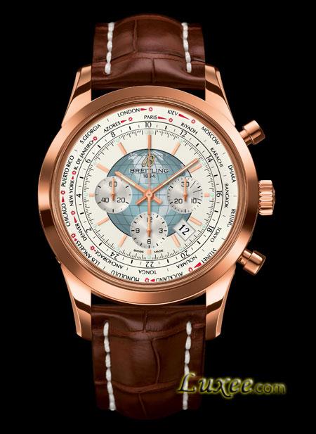 2012年 百年灵越洋世界时间计时腕表