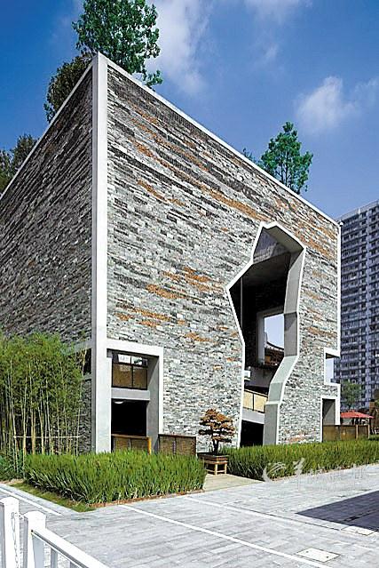 王澍获奖作品,宁波滕头馆,2010年,上海世博园,中国-离经叛道 建