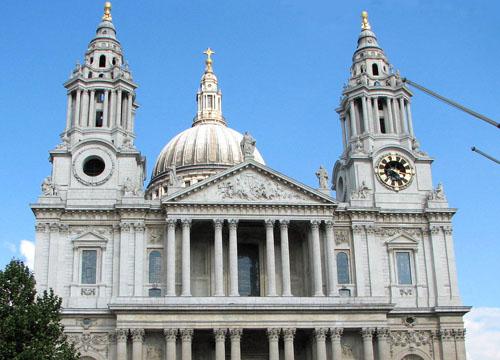 圣保罗大教堂 古典建筑的经典