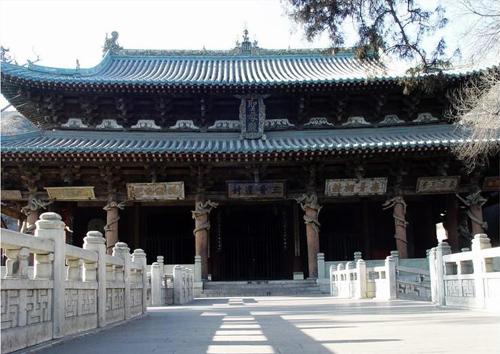 是我国现存的规模最大的古代园林式祠庙建筑
