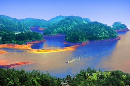 市区-之江路-320国道-05省道-千岛湖石林景区