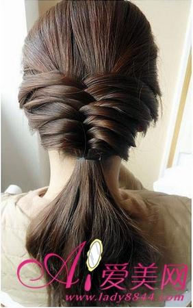 简单秀和发型图解步骤