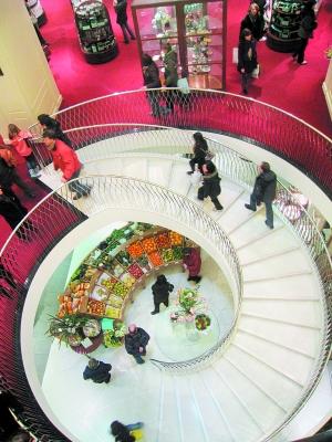 Fortnum&Mason是伦敦知名的高级消费百货商店。